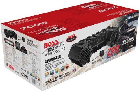 Аудиосистема Boss Audio ATVB95LED, 700 Вт, 8