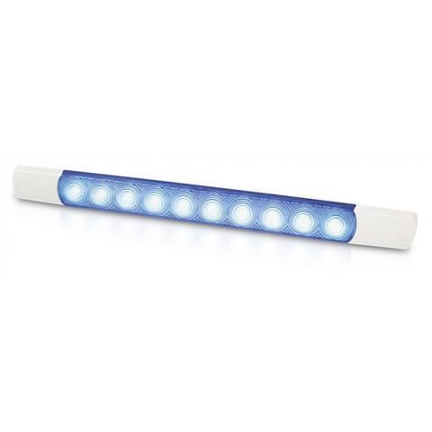 Светильник наружный светодиодный, 24 В, синий свет