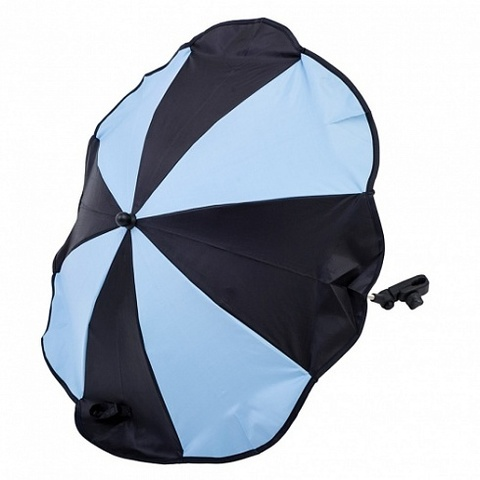 AL7001 Altabebe Зонтик для коляски (Black/Light Blue)