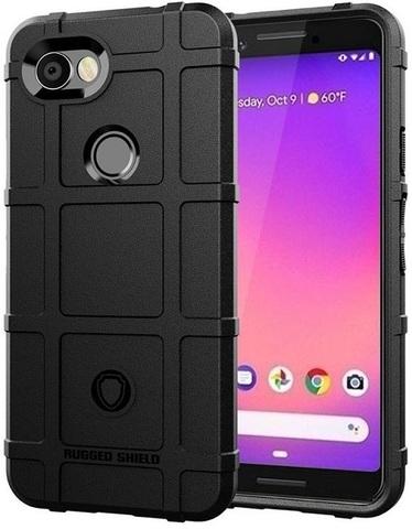 Чехол на Google Pixel 3a цвет Black (черный), серия Armor от Caseport