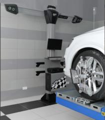 Стенд сход-развал 3D Техно Вектор 7204 T A - Light