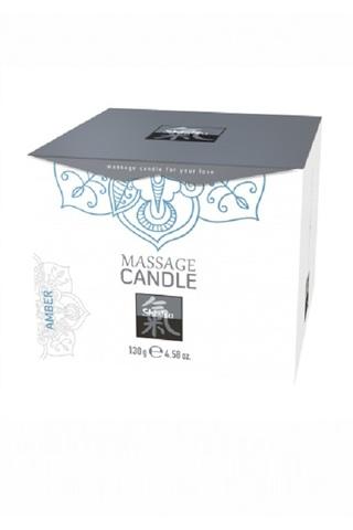 Массажная свечка с ароматом Амбра. 130 гр.
