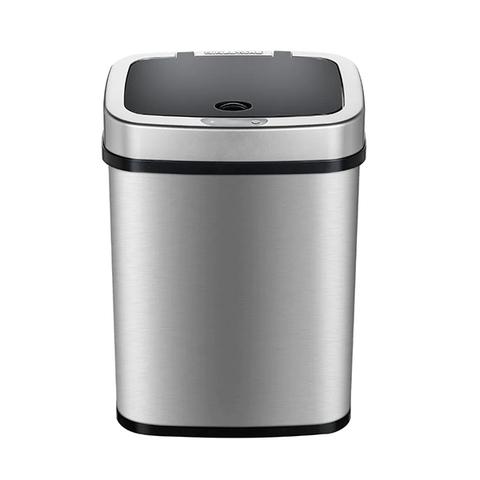Умный мусорный бак Xiaomi Ninestars Stainless steel Sensor Trash Can 12L Silver (DZT-12-5)
