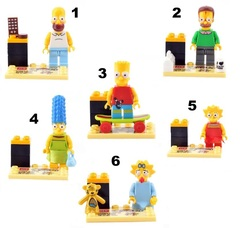 Minifigures Simpsons Family Blocks Building