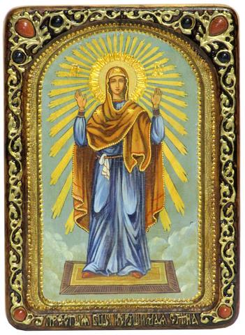 Живописная икона Божией Матери