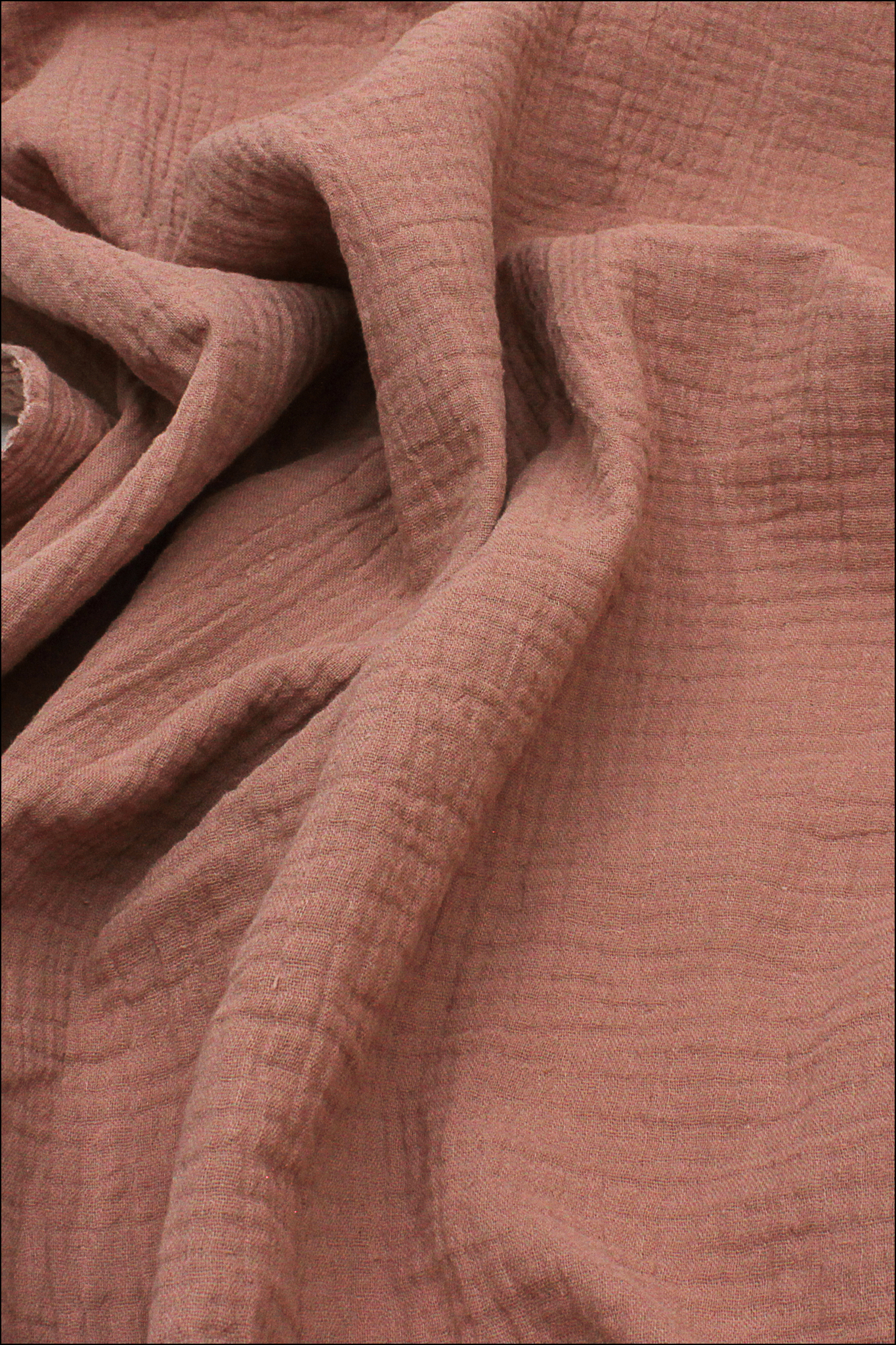Ткань муслиновая, какао