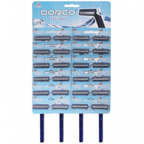 Бритва одноразовая Dorco TD708 1шт TD 708-24PC