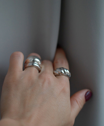 Кольцо Riviera silver