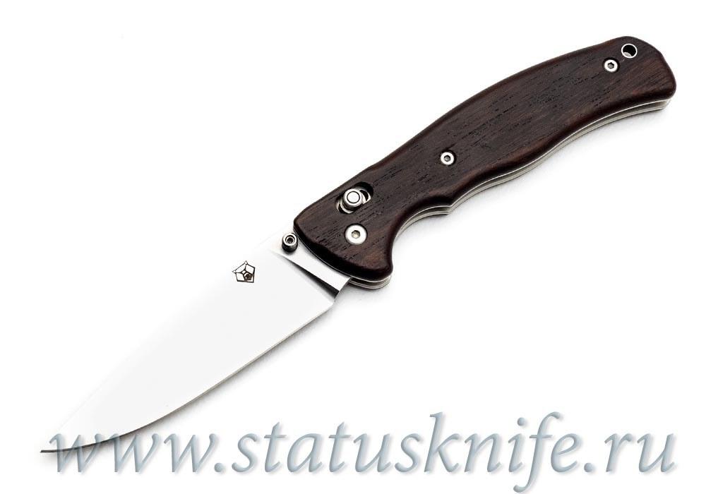 Нож Широгоров Табарган Х12МФ Эбен - фотография