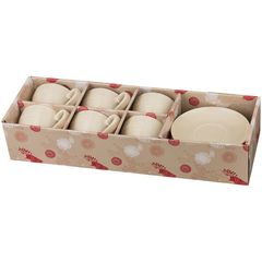 Чайный набор из керамики на 6 персон