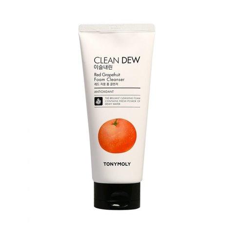 Пенка для умывания грейпфрут TonyMoly CLEAN DEW RED JAMON FOAM CLEANSER (180 мл)