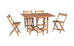 Комплект садовый складной стол и 4 стула Bergamo