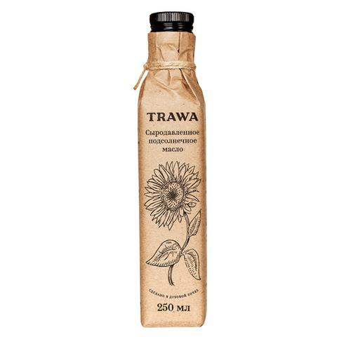TRAWA, Масло сыродавленное подсолнечное, 250мл
