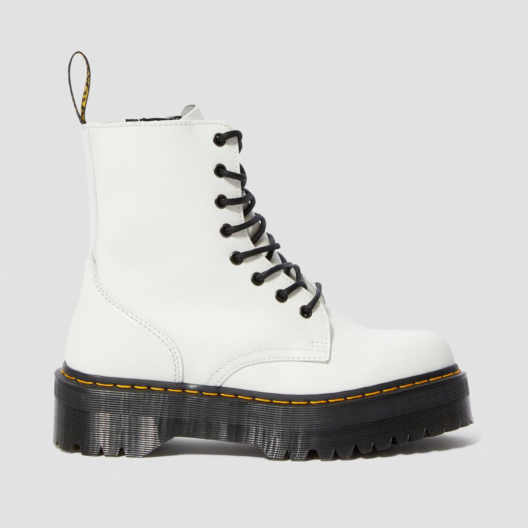 Dr.Martens Jadon High Boots White