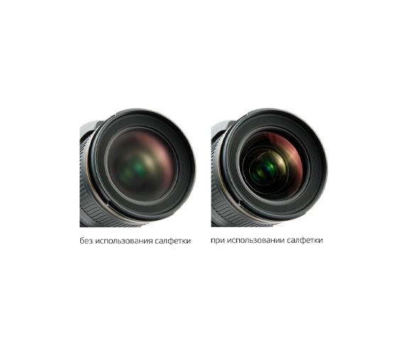 Салфетка от запотевания линз Lenspen FogKlear - фото 3 - не повреждает защитное покрытие оптики