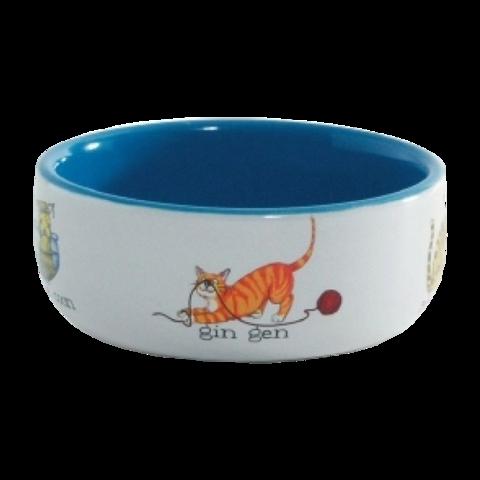 Beeztees Миска для кошек фарфоровая