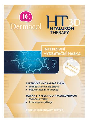 Dermacol Hyaluron Therapy Intensive Hydrating Mask Интенсивная увлажняющая маска, заполняющая морщины, 2*8гр