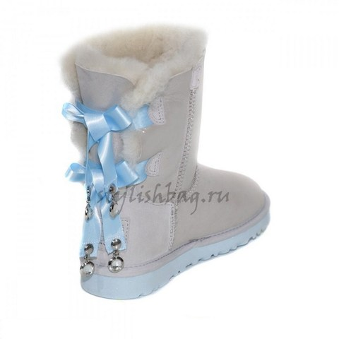 Женские угги UGG Bailey Bow Bling I DO