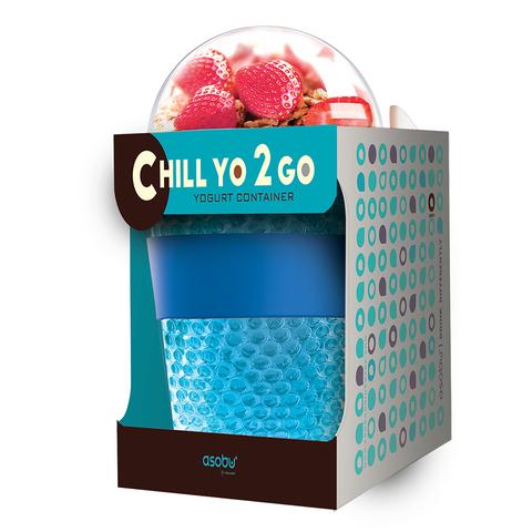 Контейнер Asobu Chill yo 2 go (0,38 литра), серый
