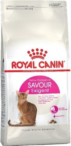 ROYAL CANIN Сухой корм для кошек привередливых ко вкусу продукта Savour Exigent 35/30 (10 кг)