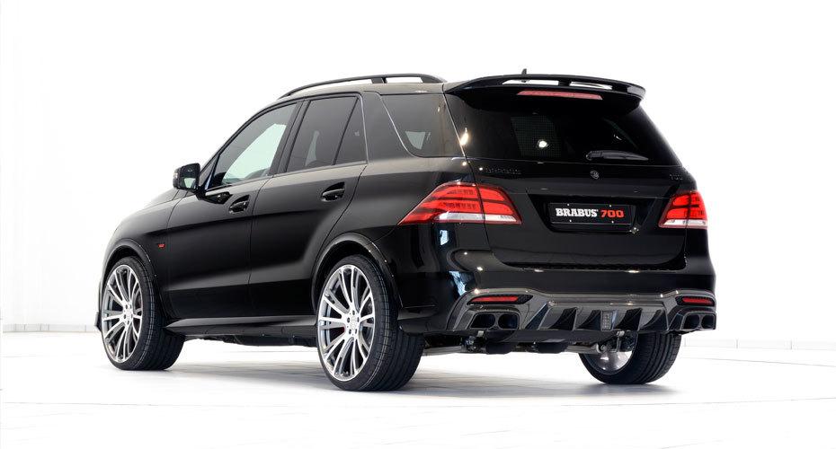 Обвес Brabus для Mercedes GLE63 W166