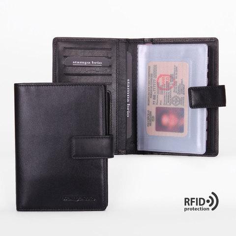 215 R - Обложка для документов c RFID защитой