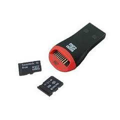 Картридер USB для карт памяти Micro-SD