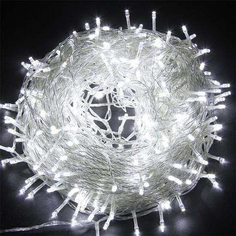 Гирлянда Новогодняя для украшения дома елки светодиодная лед
