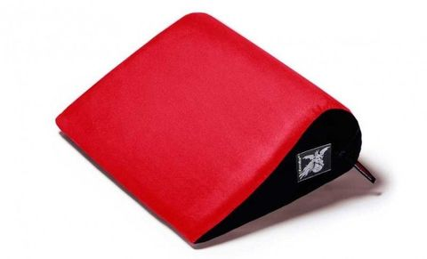 Красная малая замшевая подушка для любви Liberator Jaz
