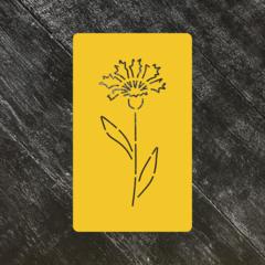 Цветок Василек №1