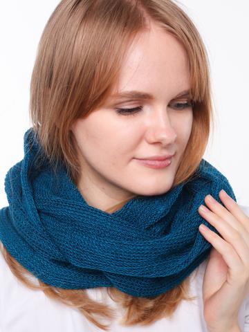 Небольшой шарф-снуд