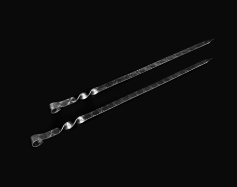 Шампур для Люля-кебаб 3мм (ширина 20мм)
