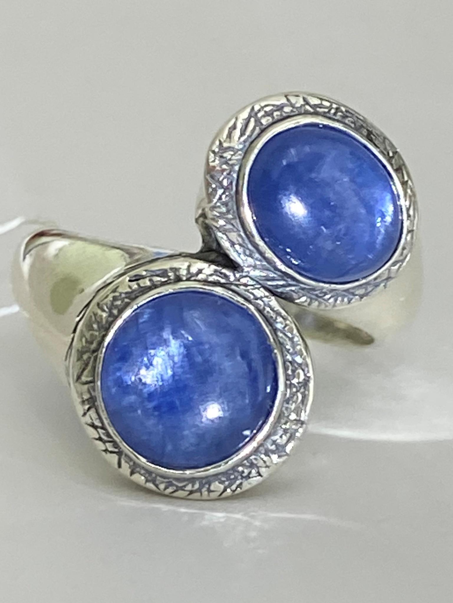 Lucet-2 левое (кольцо из серебра)