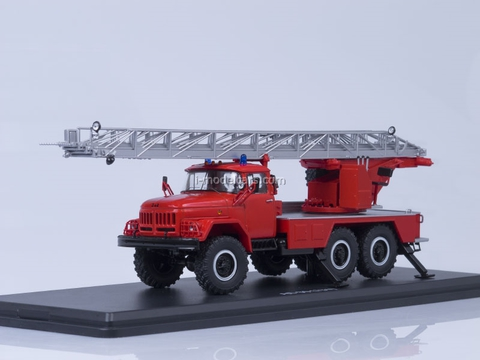 ZIL-131 AL-30 fire engine red Start Scale Models (SSM) 1:43