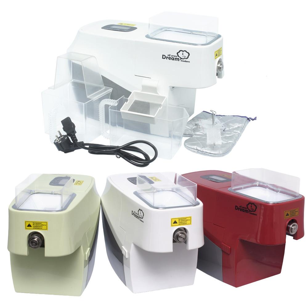 Маслопрессы Электрический маслопресс Dream Modern ODM-01 oil-press-Modern-dream-green-white-red2.jpg