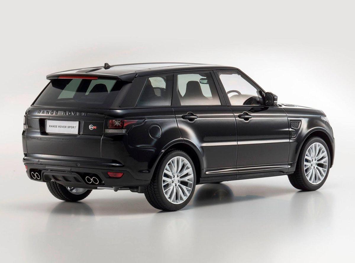 Коллекционная модель Range Rover Sport SVR 2016 Santorini Black