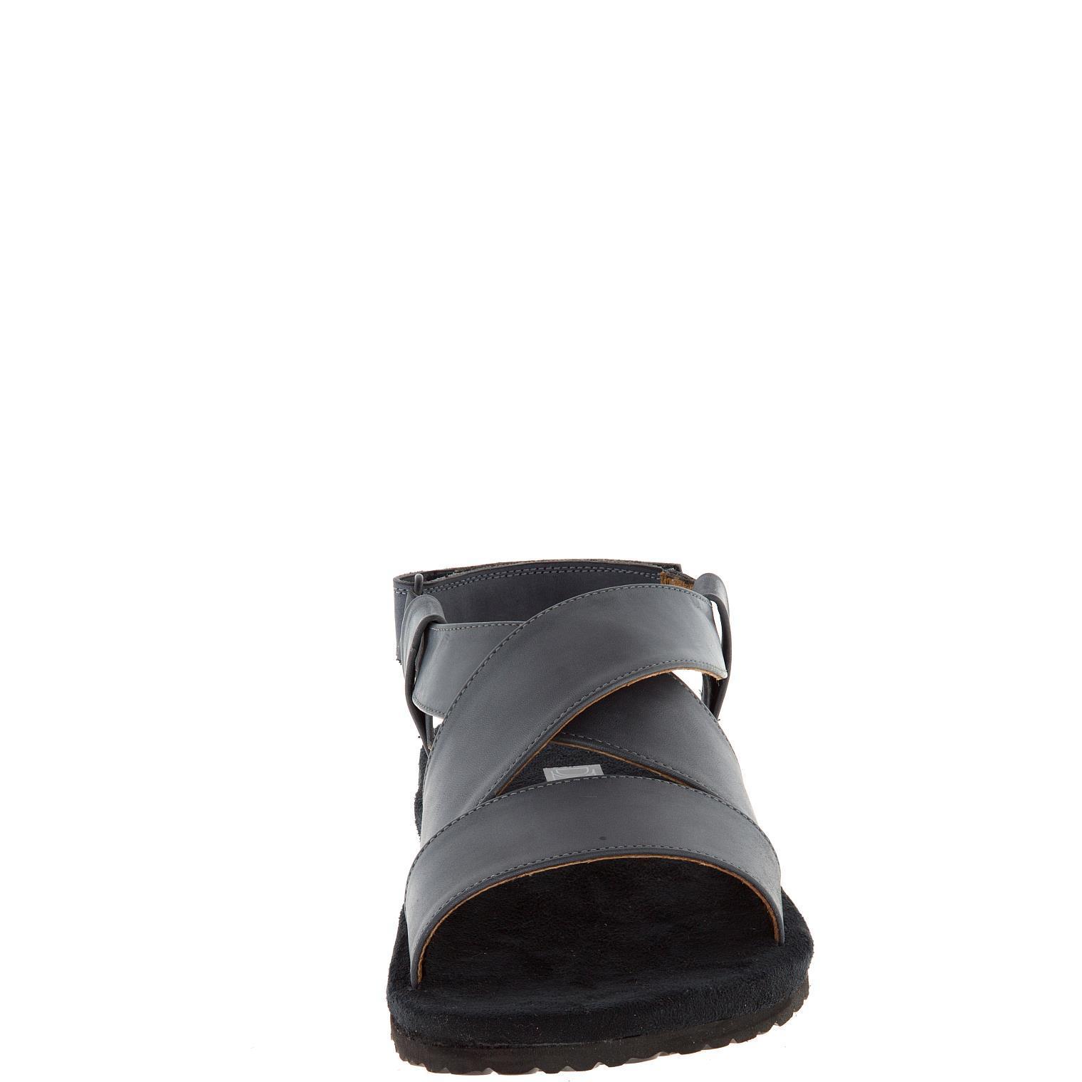 578157 сабо мужские серые больших размеров марки Делфино