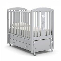 Кровать детская Дени Люкс белая ночь