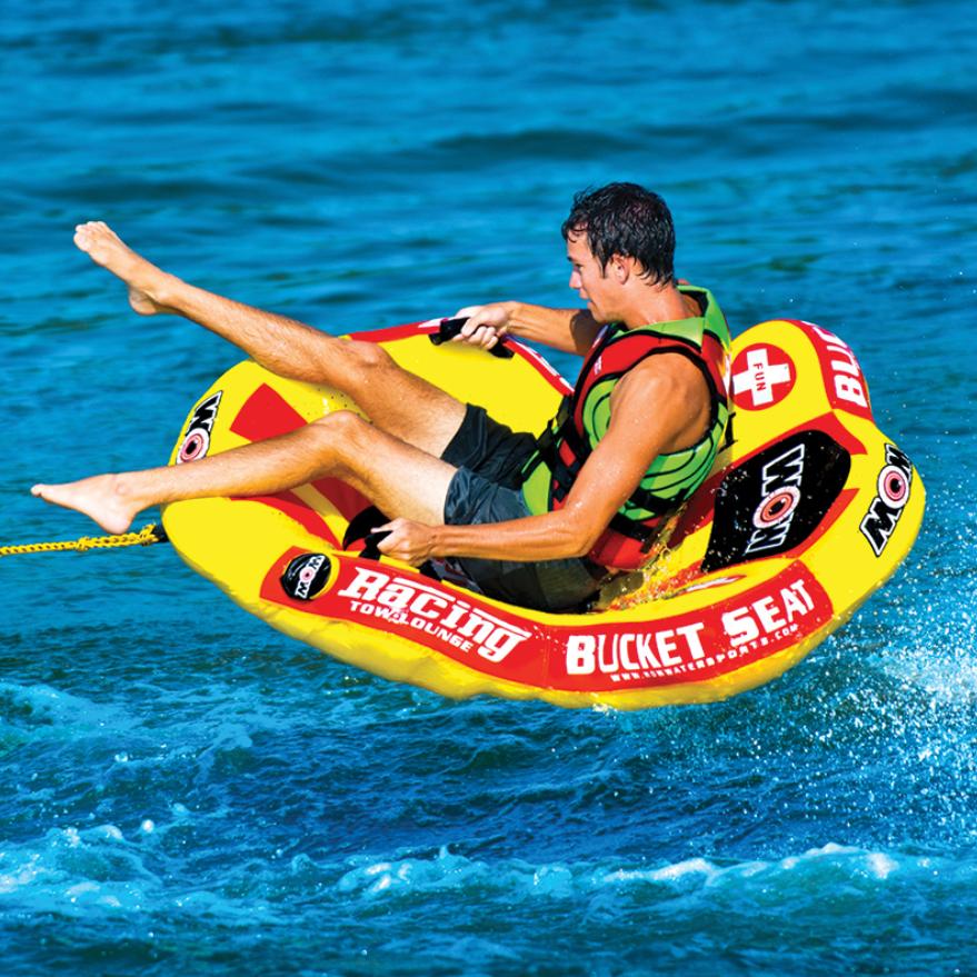 """Towable ski tube """"Bucket seat"""", 1 person"""