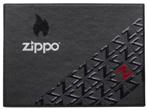 Зажигалка Zippo Armor с покрытием Antique Silver, латунь/сталь, серебристая, матовая, 36x12x56 мм123