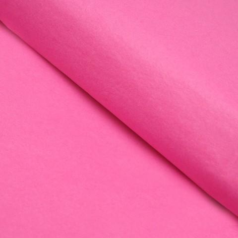 Бумага упаковочная тишью, розовый, 50 х 66 см