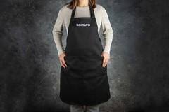 Кухонный фартук черный Samura Малый SAP-02B/K
