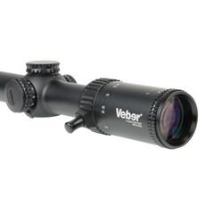 Прицел оптический Veber Wolf 1-4х24 GB FD07 Загонник