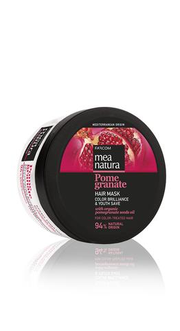 Маска для окрашенных волос MEA NATURA POMEGRANATE Бриллианты цвета 300 мл