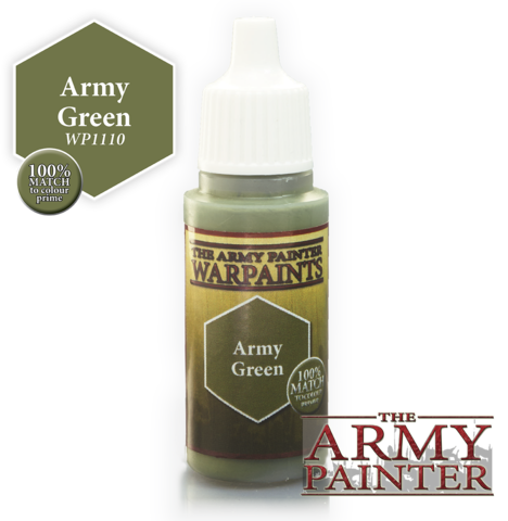 War Paints: Army Green
