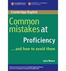 Common Mistakes at Proficiency PB
