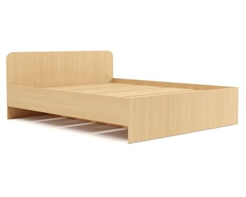 Кровать КР-18 дуб белёный