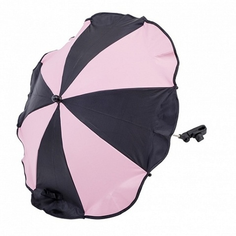 AL7001 Altabebe Зонтик для коляски (Black/Rose)