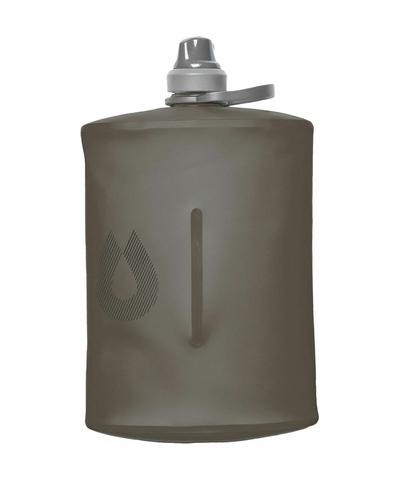Мягкая фляга для воды HydraPak Stow (1 литр), серая