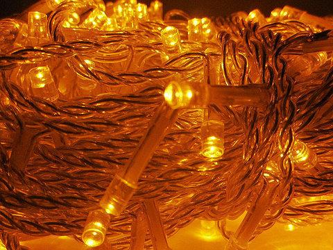 Гирлянды LED светодиодные уличные 30м 300 лэд